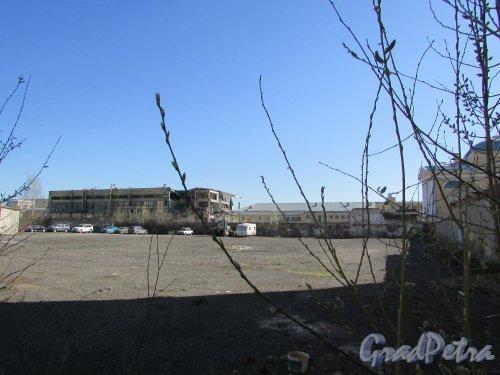 Лермонтовский проспект, дом 54, корпус 2, литера Н. Снос здания. Фото 18 апреля 2019 г.
