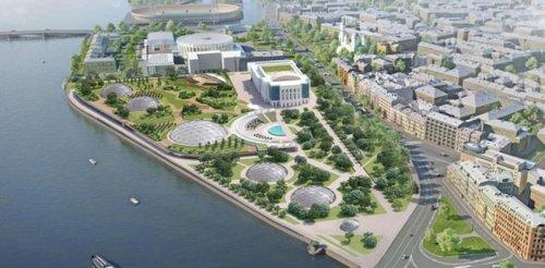 Проект планировки территории «Судебного квартала» 2019 года.