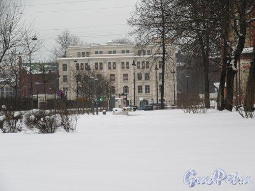 Лиговский пр., д. 6, кор. 2. Бизнес-центр, 2012-14. Общий вид, фото февраль 2018 г.