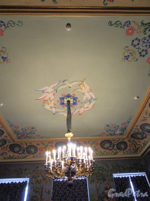 Невский пр., д. 39. Аничков дворец. Комната сказок, 1936, Роспись потолка. фото март 2018 г.