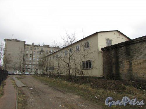 Московский проспект, дом 189а, литера Д. Фасад со стороны ЖК «Граф Орлов». Фото 19 февраля 2020 г.