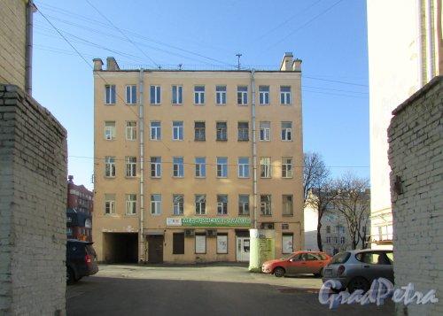 Лиговский проспект, дом 211, литера А. Общий вид здания со стороны Лиговского проспекта. Фото 25 февраля 2020 г.