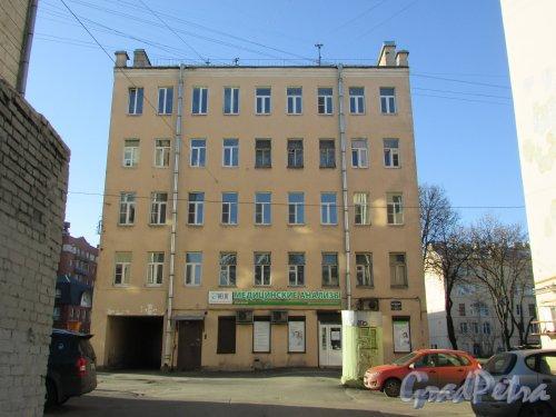 Лиговский проспект, дом 211, литера А. Сохранившееся на участке здание. Фото 25 февраля 2020 г.