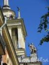 Московский пр., д. 190. Жилой дом. Угловая башня. Вид со стороны двора. фото май 2018 г.