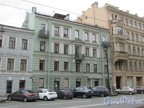Невский проспект, дом 123, литера А. Общий вид фасада здания. Фото 7 мая 2020 г.