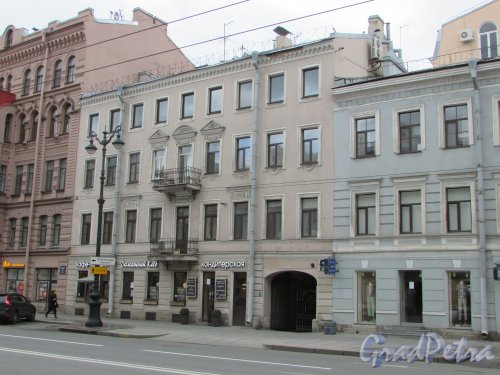 Невский проспект, дом 127а, литера А. Общий вид фасада здания. Фото 7 мая 2020 г.