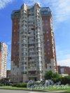 г. Сестрорецк, Дубковское шоссе, дом 11. Общий вид жилого дома от Зарубинского проезда. Фото 27 июля 2015 года.