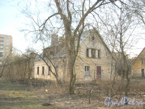 Г. Красное Село, Гатчинское шоссе, дом 5, корпус 1. Общий вид. Фото 8 апреля 2014 г.