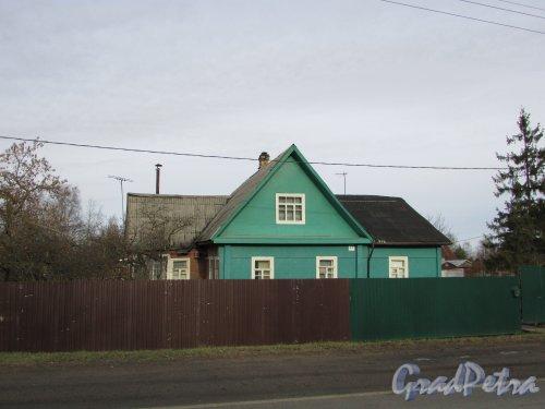 посёлок Сапёрный, Петрозаводское шоссе, дом 27. Индивидуальный жилой дом. Фото 2 ноября 2019 года.