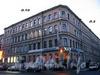 Ул. Жуковского, д. 10 / ул. Чехова, д. 2. Бывший доходный дом. Общий вид здания. Фото октябрь 2009 г.