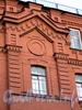 Ул. Чехова, д. 13. Фрагмент фасада здания. Фото октябрь 2009 г.