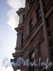 Ул. Ефимова, д. 5 / наб. реки Фонтанки, д. 93. Доходный дом С. П. Горсткина. Угловой эркер. Фото февраль 2010 г.