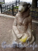 Скульптуры животных в сквере на детской площадке у дома 3 по Ординарной улице. Фото сентябрь 2009 г.