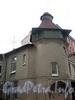 Ординарная ул., д. 4. Флигель особняка Г. Г. Винекена. Фрагмент фасада. Фото сентябрь 2009 г.