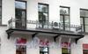 Потемкинская ул., д. 5. Особняк Дубенской (А. С. Дубасовой). Балкон. Фото сентябрь 2009 г.
