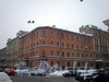 4-я Советская ул., д. 4 (угловая часть) / Греческий пр., д. 9. Бывший доходный дом. Общий вид здания. Фото февраль 2010 г.