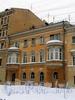 Ул. Рылеева, д. 1 (левая часть). Дом А. А. Лисицына. Фасад здания. Фото февраль 2010 г.