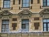 Ул. Рылеева, д. 3. Дом Спасо-Преображенского собора. Фрагмент фасада здания. Фото февраль 2010 г.