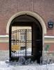 Ул. Рылеева, д. 10. Решетка ворот. Фото февраль 2010 г.