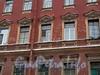 Ул. Рылеева, д. 15. Доходный дом В. К. Кребера. Фрагмент фасада. Фото февраль 2010 г.