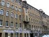 Ул. Рылеева, д. 17-19. Фрагмент фасада здания. Фото февраль 2010 г.
