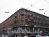 Ул. Восстания, д. 40 / ул. Рылеева, д. 18. Общий вид здания. Фото февраль 2010 г.