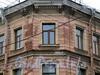 Ул. Рылеева, д. 26 / ул. Радищева, д. 42. Фрагмент угловой части фасада. Фото февраль 2010 г.