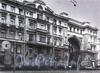 Ул. Пестеля, д. 13-15. Доходный дом Я. В. Ратькова-Рожнова. Фрагмент фасада. Фото 1995 г. (из книги «Историческая застройка Санкт-Петербурга»)
