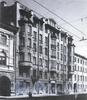 Кирочная ул., д. 6. Доходный дом И. М. Екимова. Фасад здания. Фото 1992 г. (из книги «Историческая застройка Санкт-Петербурга»)