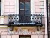 Бол. Конюшенная ул., д. 11. Здание комплекса Придворной певческой капеллы. Решетка балкона. Фото март 2010 г.