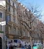 Бол. Конюшенная ул., д. 29. Доходный дом Башмакова. Фасад здания. Фото март 2010 г.