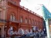 Бол. Конюшенная ул., д. 25. Здание Французской реформатской церкви св. Павла. Фасад здания после реставрации. Фото март 2010 г.