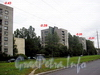 Перспектива ул. Шелгунова от ул. Кибальчича к ул. Седова. Дома 31, 35, 39, 43