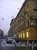 перспектива нечётной стороны Харьковской улицы от Невского проспекта в сторону Миргородской улицы.