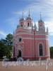 Ул. Ленсовета, д. 12, церковь Святого Иоанна Предтечи (Чесменская), общий вид здания. Фото 2008 г.