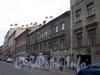 Перспектива нечетной стороны Разъезжей улицы от Боровой ул. к Лиговскому пр. (ул. Разъезжая, д.д. 33-39). Фото 2008 г.