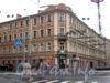ул. Комиссара Смирнова, д. 5 (левая часть) / Лесной пр., д. 7, общий вид здания. Фото 2008 г.