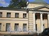 Ул. Академика Лебедева, д. 6, фрагмент фасада здания. Фото 2008 г.