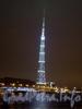 Ночное оформление Телевизионной башни