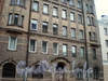 9-я Советская ул., д. 14. Фрагмент фасада здания. Февраль 2009 г.