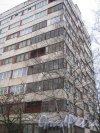 Ул. Лётчика Пилютова, дом 46. Фрагмент здания. Фото 12 января 2014 г.