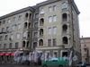 Ул. Седова, д. 84. Фрагмент фасада здания. Март 2008 г.