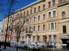 Фурштатская ул., д. 48 (левая часть). Фасад здания. Март 2009 г.