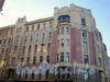 Бородинская ул. д. 1/наб. реки Фонтанки, д. 88. Фасад здания по Бородинской ул. Ноябрь 2008 г.