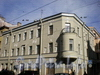 Колокольная ул., д. 12/Поварской пер., д. 17. Общий вид здания. Апрель 2009 г.
