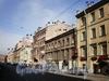 Перспектива четной стороны Колокольной ул. от ул. Марата к Владимирскому проспекту Апрель 2009 г.