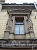 Ул.Чайковского, д. 45. Художественное оформление фасада здания. Апрель 2009 г.