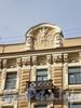 Улица Чайковского, д. 26. Доходный дом В. А. Абазы. Художественное оформление фасада здания.  Апрель 2009 г.