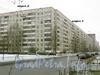 Ул. Есенина, д. 26, корпуса 1-2. Общий вид жилого дома. Март 2009 г.