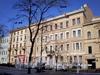 Дома 46 и 48 (левая часть) по Фурштатской улице. Фото март 2009 г.
